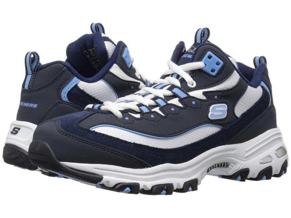 SKECHERS - D'Lites - Mid (Navy) Women's Shoes