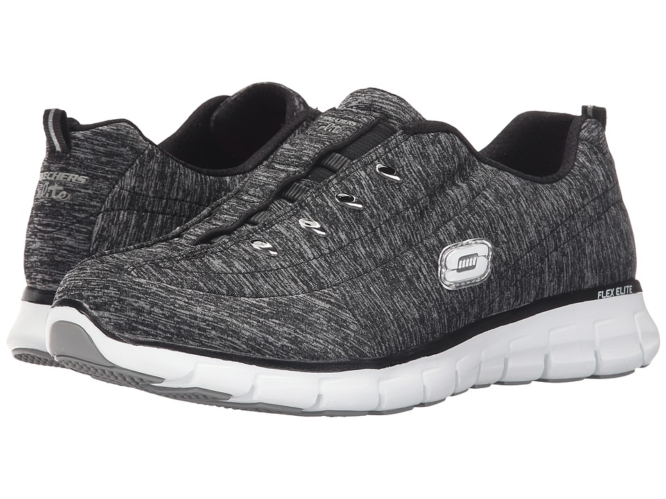 SKECHERS - Synergy - Positive Outcome (Black) Women's Shoes