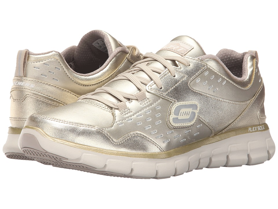 SKECHERS - Synergy - Masquerade (Gold) Women's Shoes