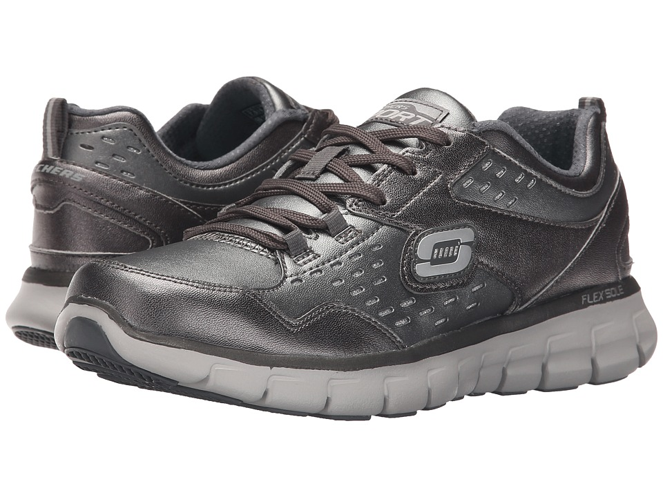 SKECHERS - Synergy - Masquerade (Gunmetal) Women's Shoes