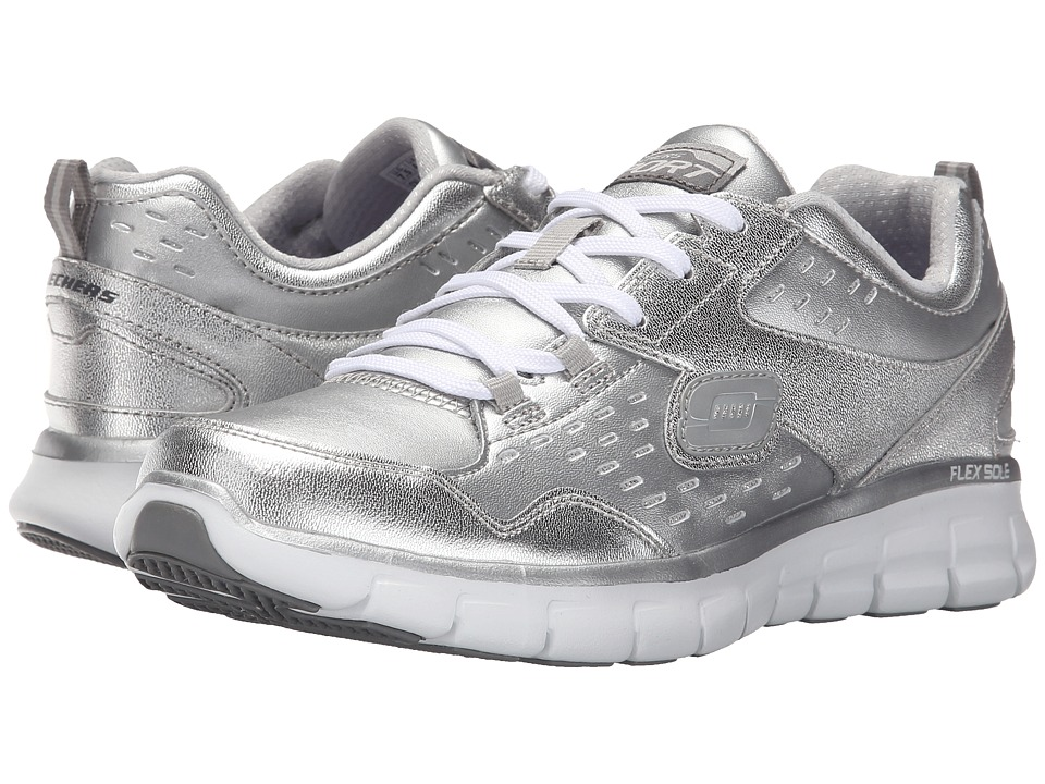 SKECHERS - Synergy - Masquerade (Silver) Women's Shoes