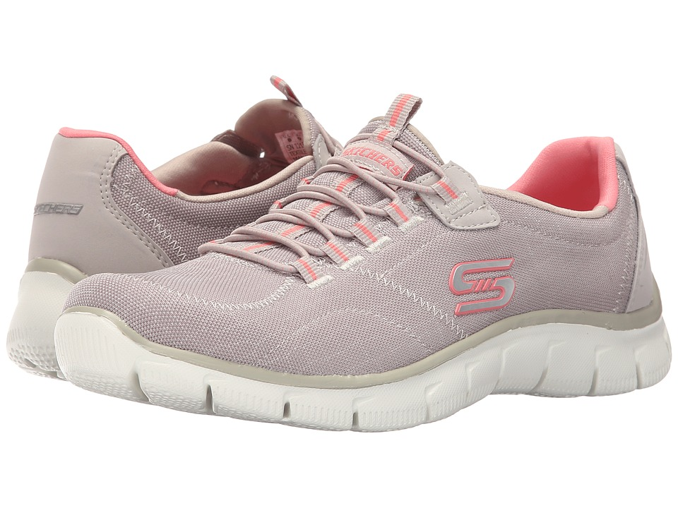 SKECHERS - Empire - Rock Around (Taupe) Women's Shoes