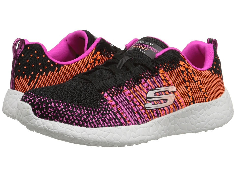 SKECHERS - Burst - Ellipse (Black/Purple) Women's Shoes