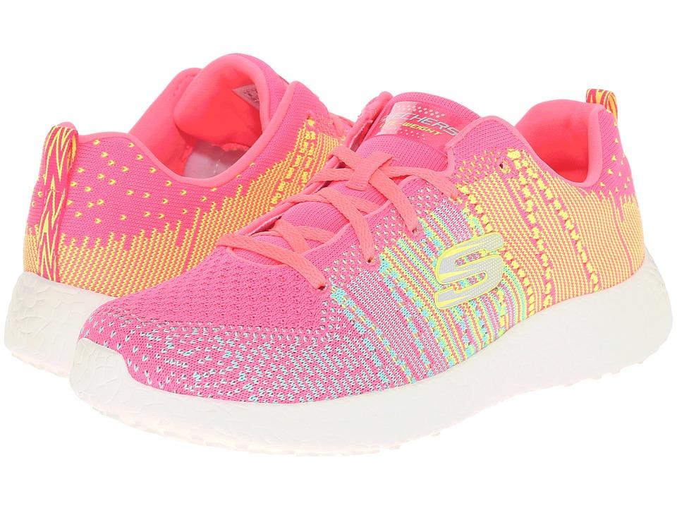 SKECHERS - Burst - Ellipse (Hot Pink/Multi) Women's Shoes