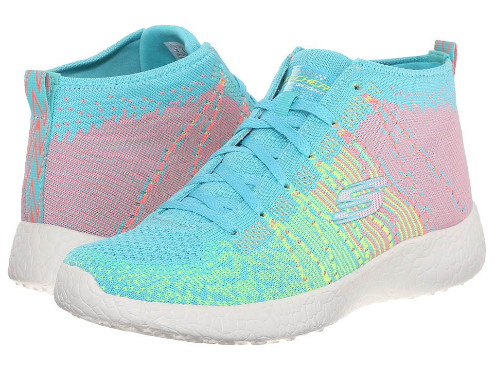 SKECHERS - Burst - Sweet Symphony (Mint) Women's Shoes