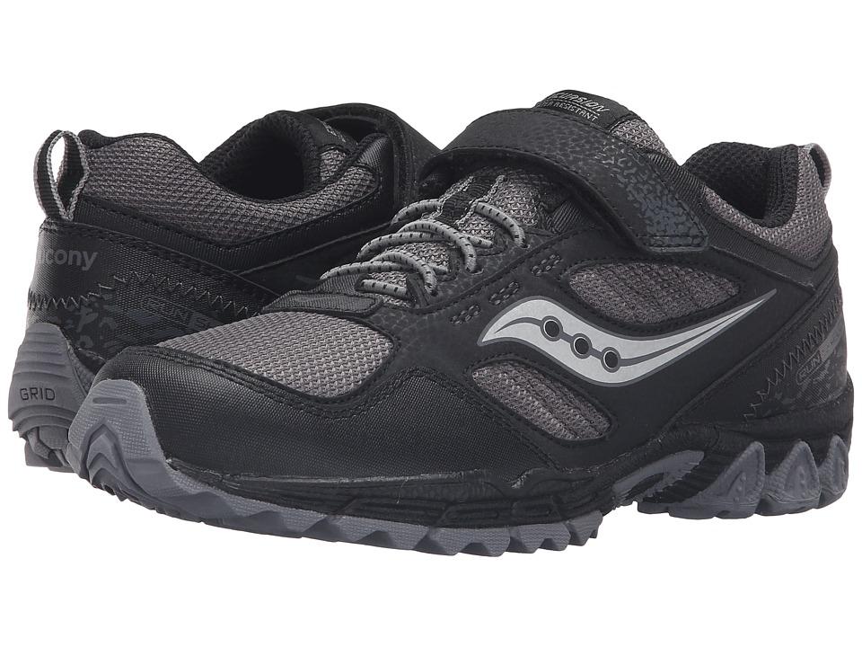 Saucony Kids - Excursion Water Shield A/C (Big Kid) (Black/Grey) Boys Shoes