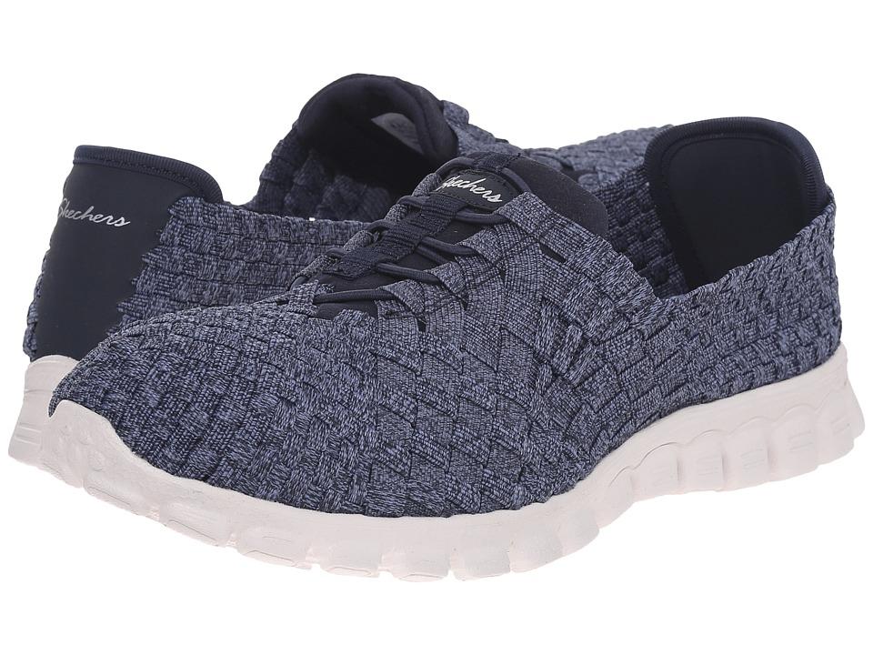 SKECHERS - EZ Flex 2 - Pedestal (Navy) Women's Shoes