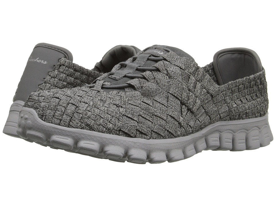 SKECHERS - EZ Flex 2 - Pedestal (Gray) Women's Shoes