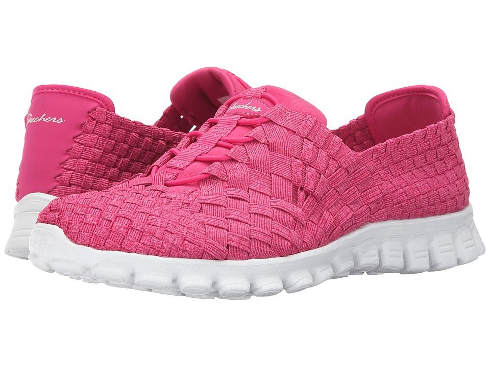 SKECHERS - EZ Flex 2 - Pedestal (Fuchsia) Women's Shoes