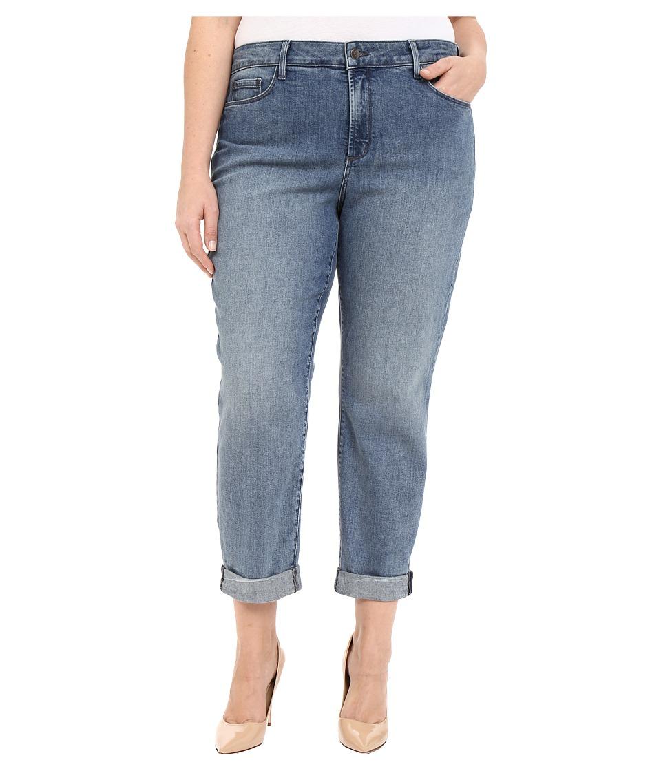 NYDJ Plus Size - Plus Size Sylvia Boyfriend in Montebello (Montebello) Women's Jeans