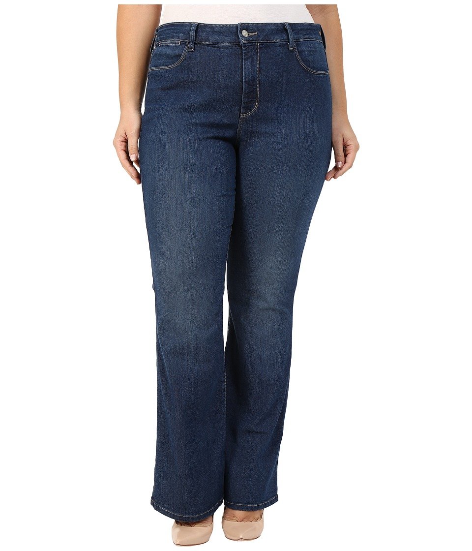 NYDJ Plus Size - Plus Size Farrah Flare in Cleveland (Cleveland) Women's Jeans