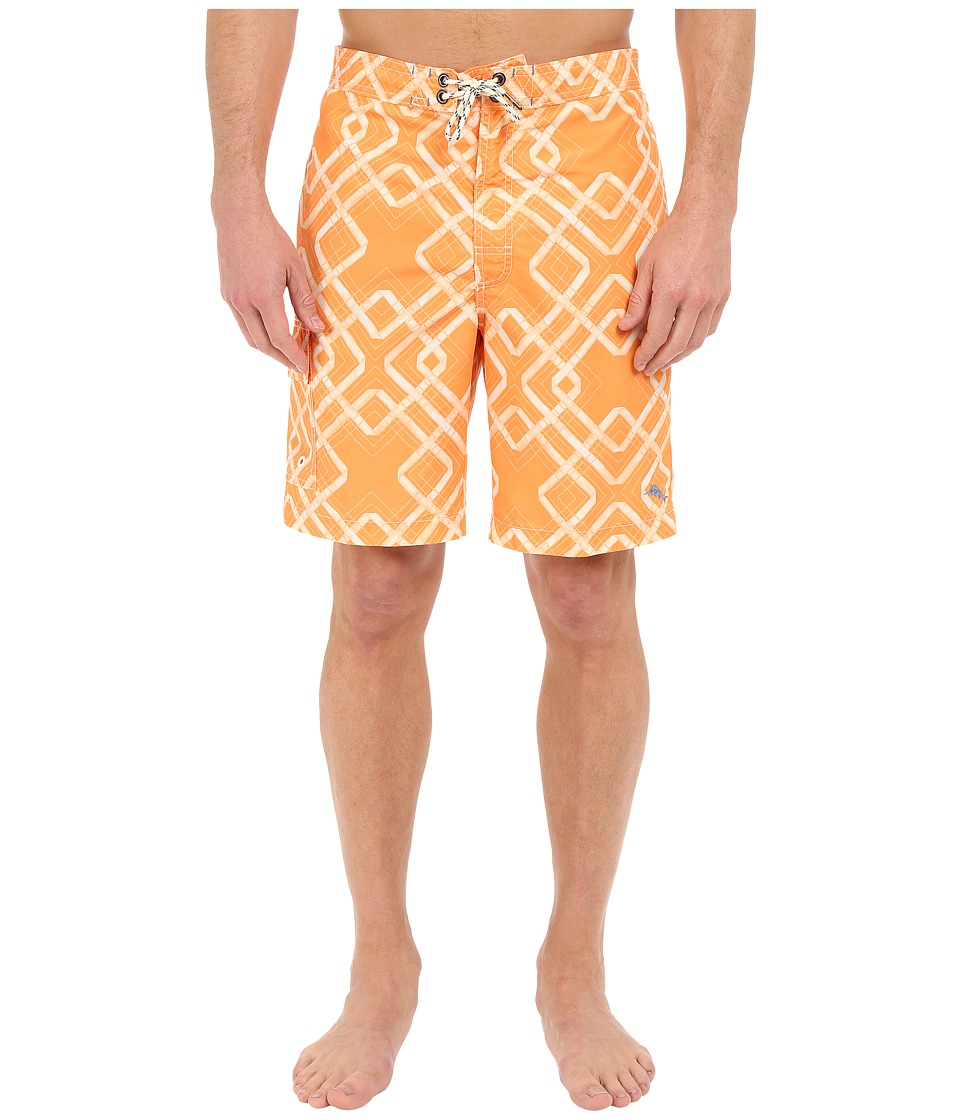 Tommy Bahama - Baja Rockford Tiles 9-inch Swim Trunk (Bright Pop) Men's Swimwear