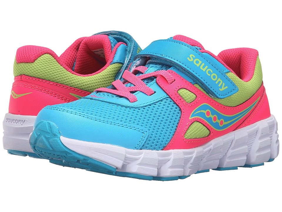 Saucony Kids Vortex A/C (Little Kid) (Multi) Girls Shoes