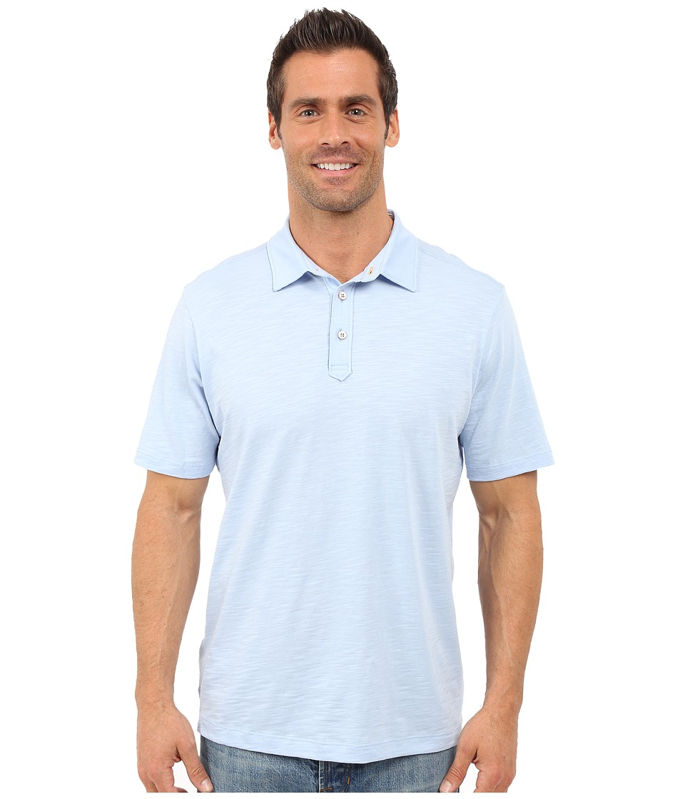 Tommy Bahama - Portside Player Spectator Polo (Icy) Men's Clothing