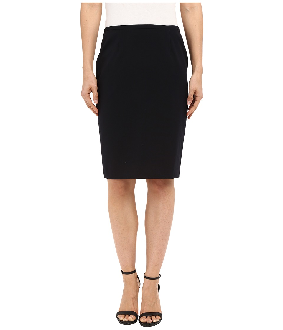 Calvin Klein - Pencil Skirt (Navy) Women's Skirt