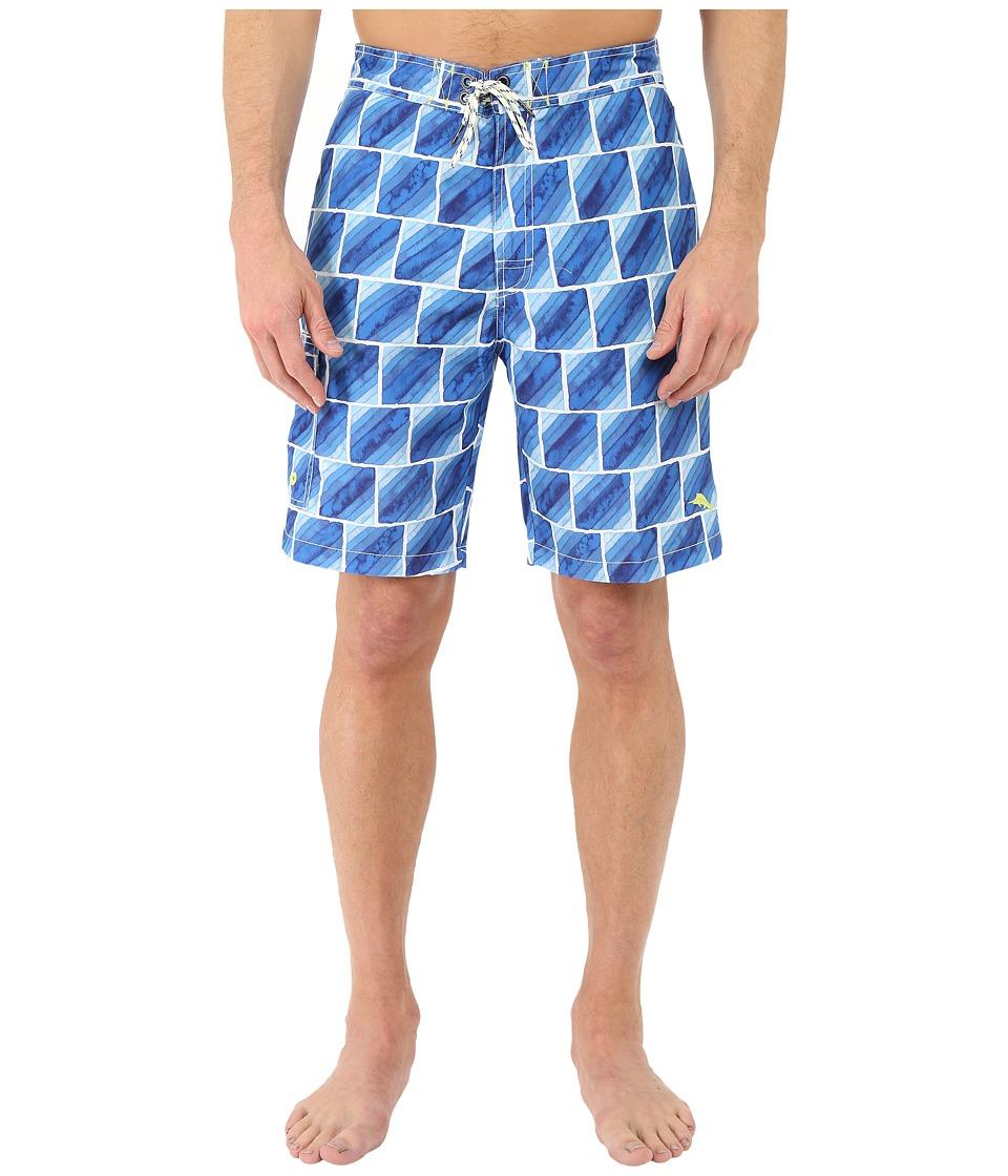 Tommy Bahama - Baja Hit the Bricks Swim Trunk (Maritime) Men's Swimwear
