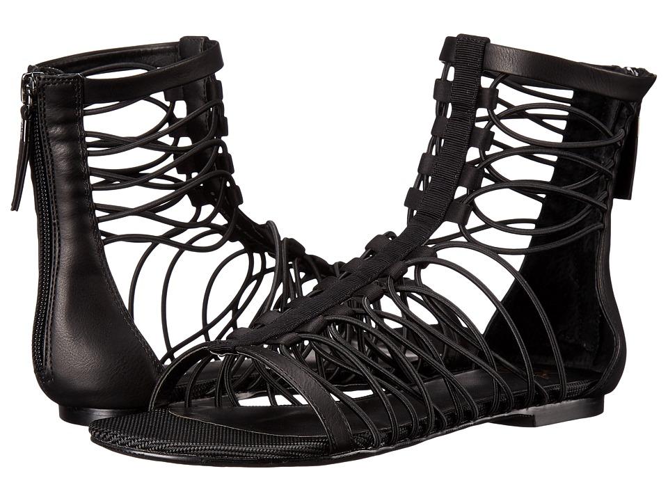 GX By Gwen Stefani - Rachael (Black Gross Grain/Satin) Women's Sandals
