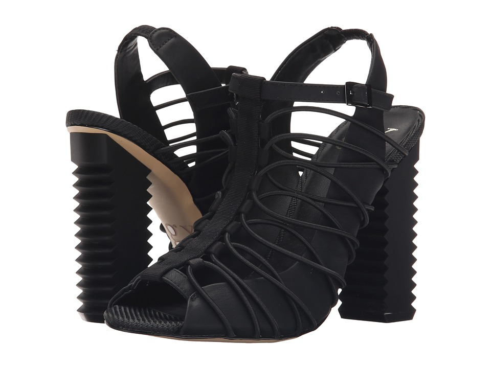 GX By Gwen Stefani - Rada (Black Vachetta/Satin) High Heels