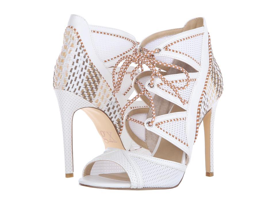 GX By Gwen Stefani - Raffael (White Vachetta/Mesh) High Heels