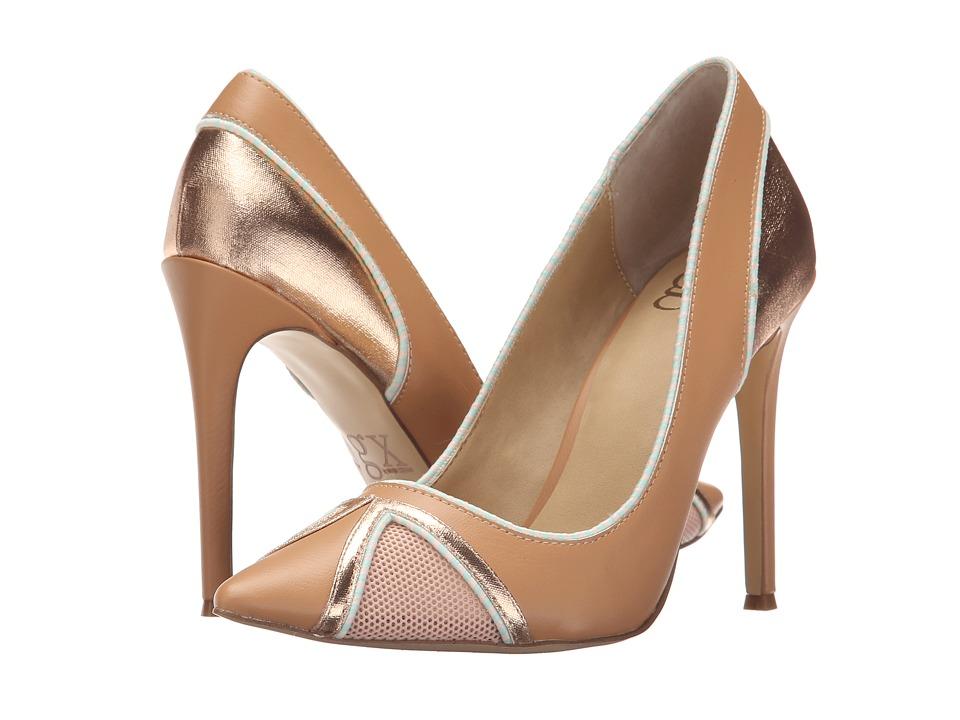 GX By Gwen Stefani - Raimund (Nude/Pale Pink Vachetta/Mesh) High Heels