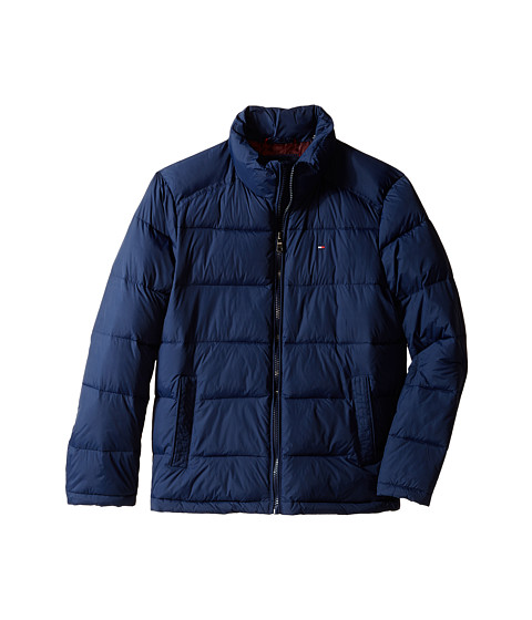Tommy Hilfiger - Classic Zip Front Puffer (New Navy) Men