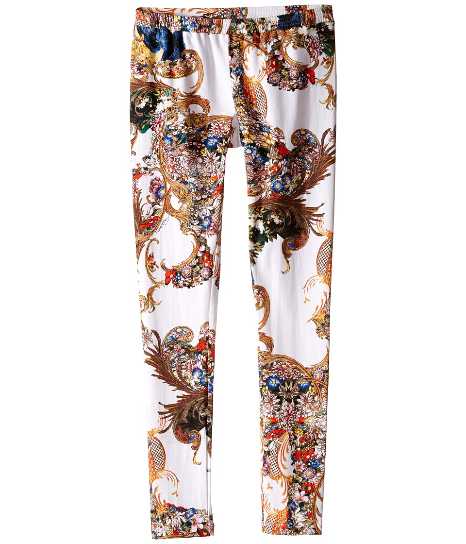 Roberto Cavalli Kids - Printed Leggings (Big Kids) (Floral) Girl