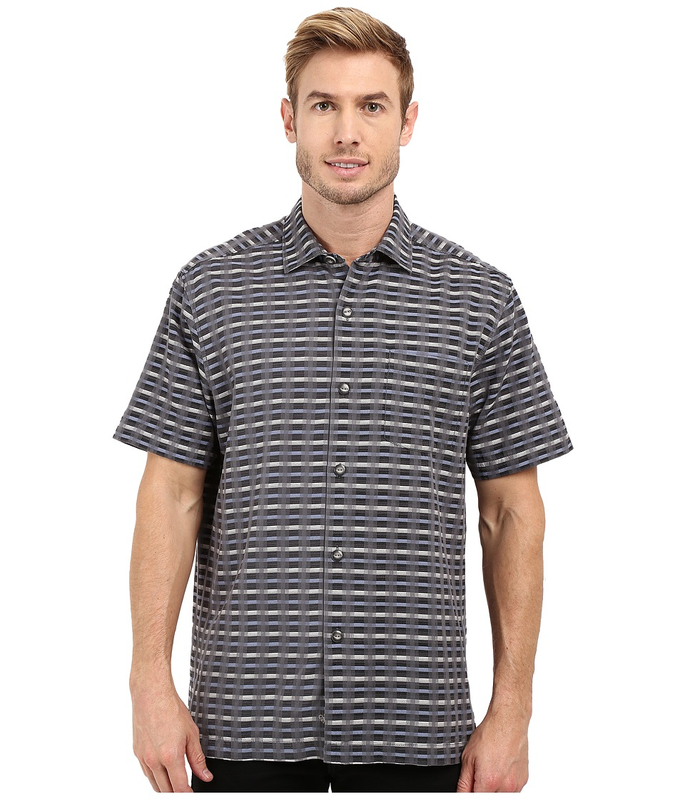 Tommy Bahama - Pixel in Paradise Woven Shirt (Turbulence) Men's Clothing