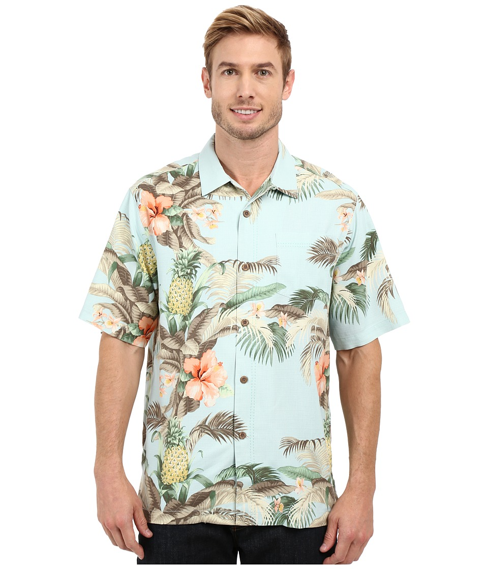 Tommy Bahama - Shut the Frond Door Woven Shirt (Plume) Men's Short Sleeve Button Up