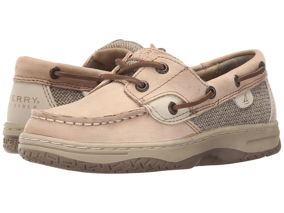 Sperry Kids - Bluefish (Little Kid/Big Kid) (Linen/Oat) Kids Shoes