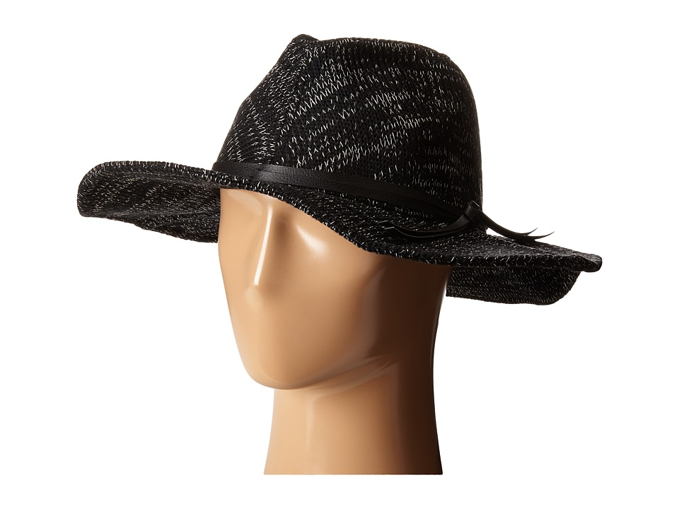 Hurley - Coco Fedora (Black) Fedora Hats