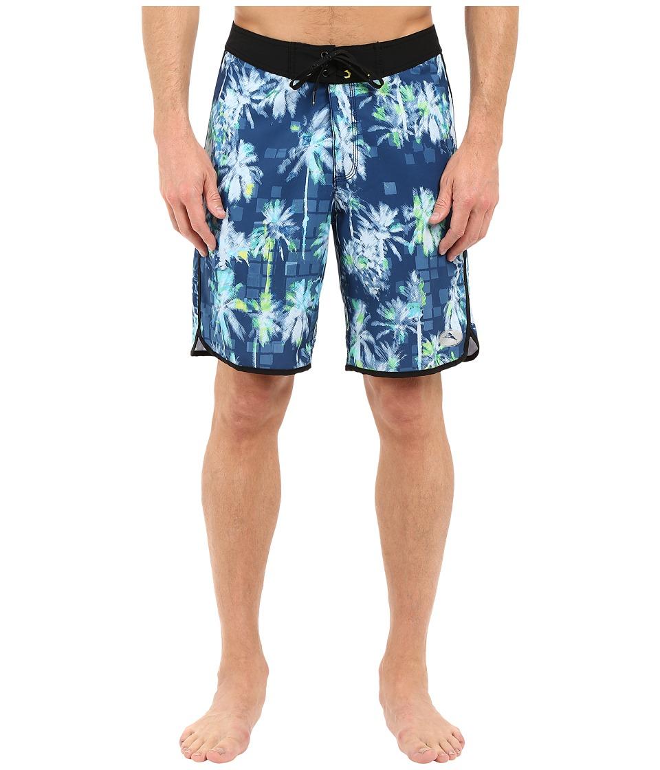 Tommy Bahama - Pacific Tidal Palms Swim Trunk (Maritime) Men's Swimwear