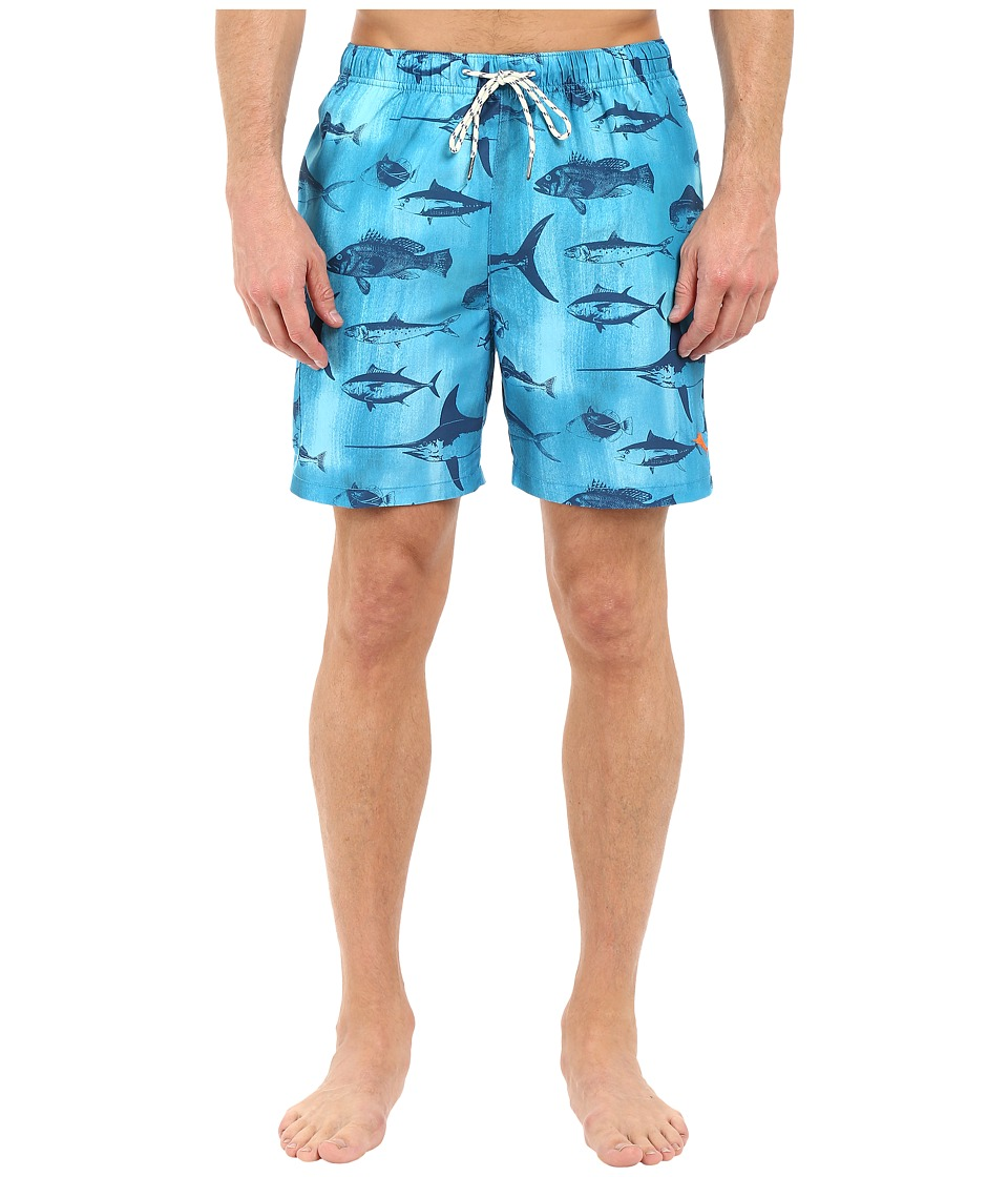 Tommy Bahama - Naples Schools Out Swim Trunk (Como Blue) Men's Swimwear