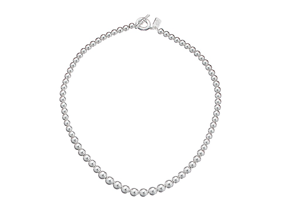 LAUREN Ralph Lauren - 18 Graduated Bead Necklace (Silver) Necklace