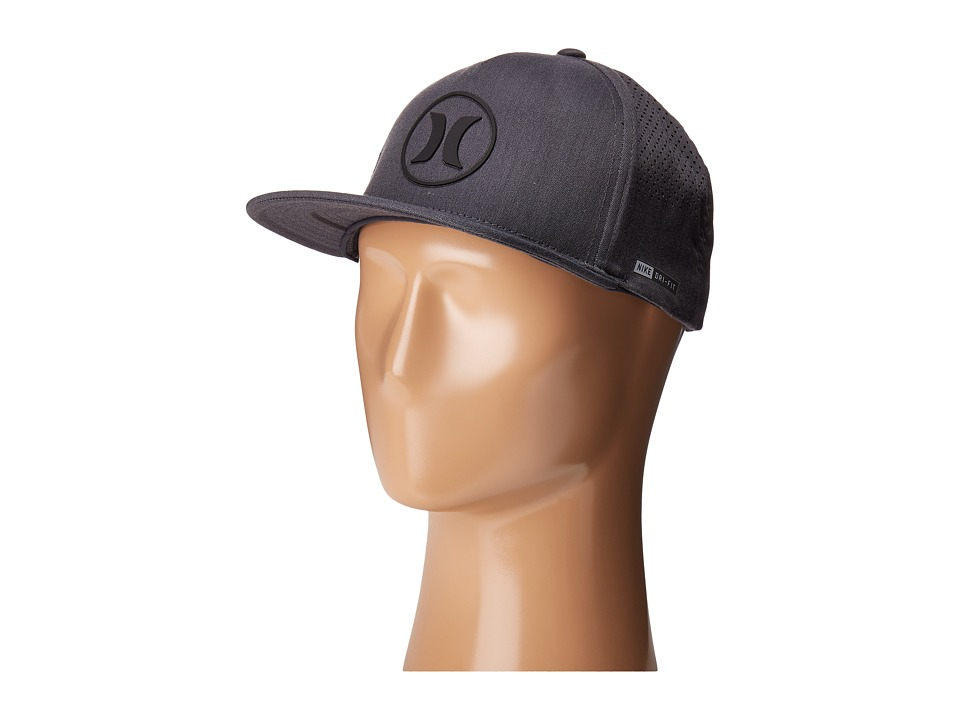 Hurley - Dri-Fit Icon 2.0 (Black) Caps