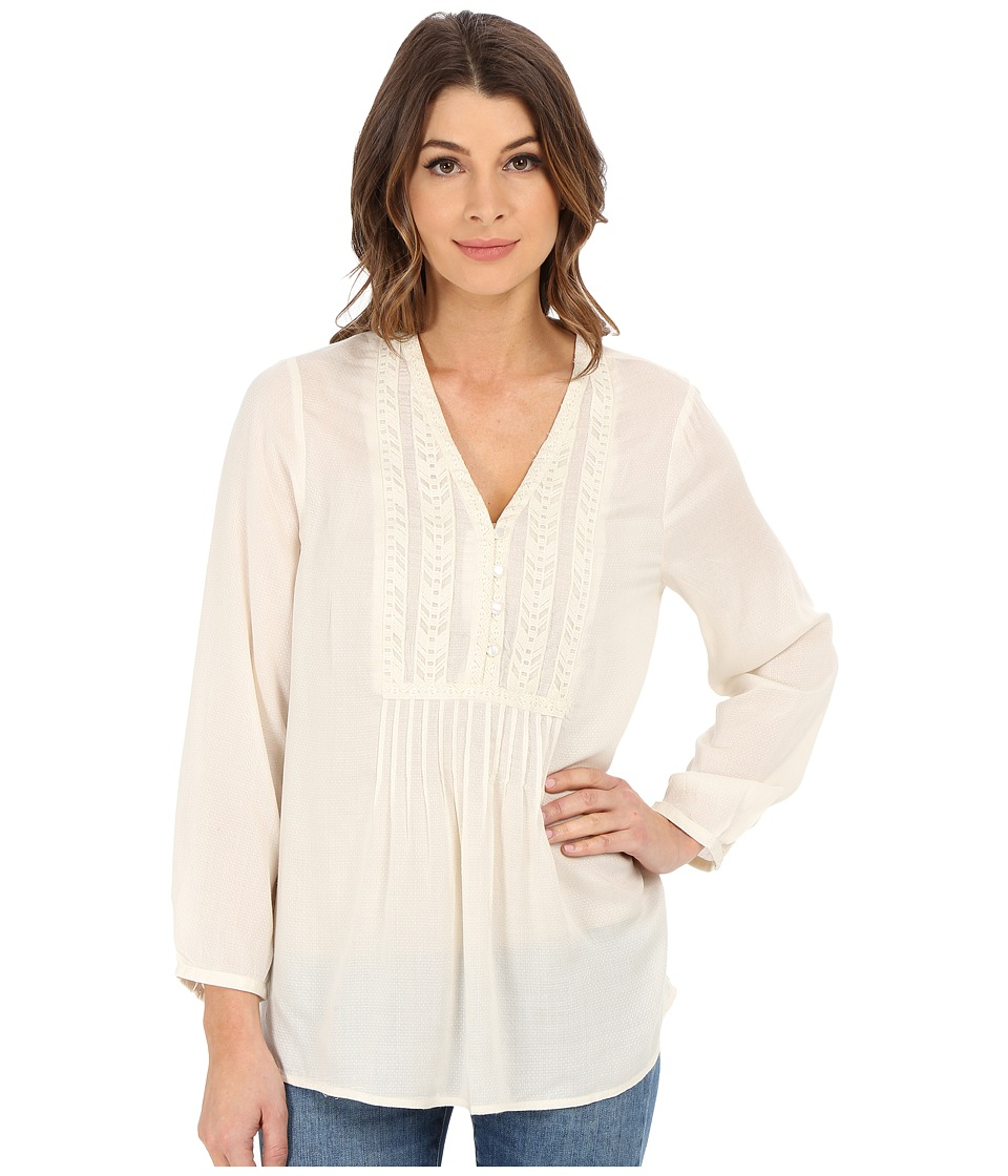 Lucky Brand - Novelty Bib Top (Nigori) Women's Blouse