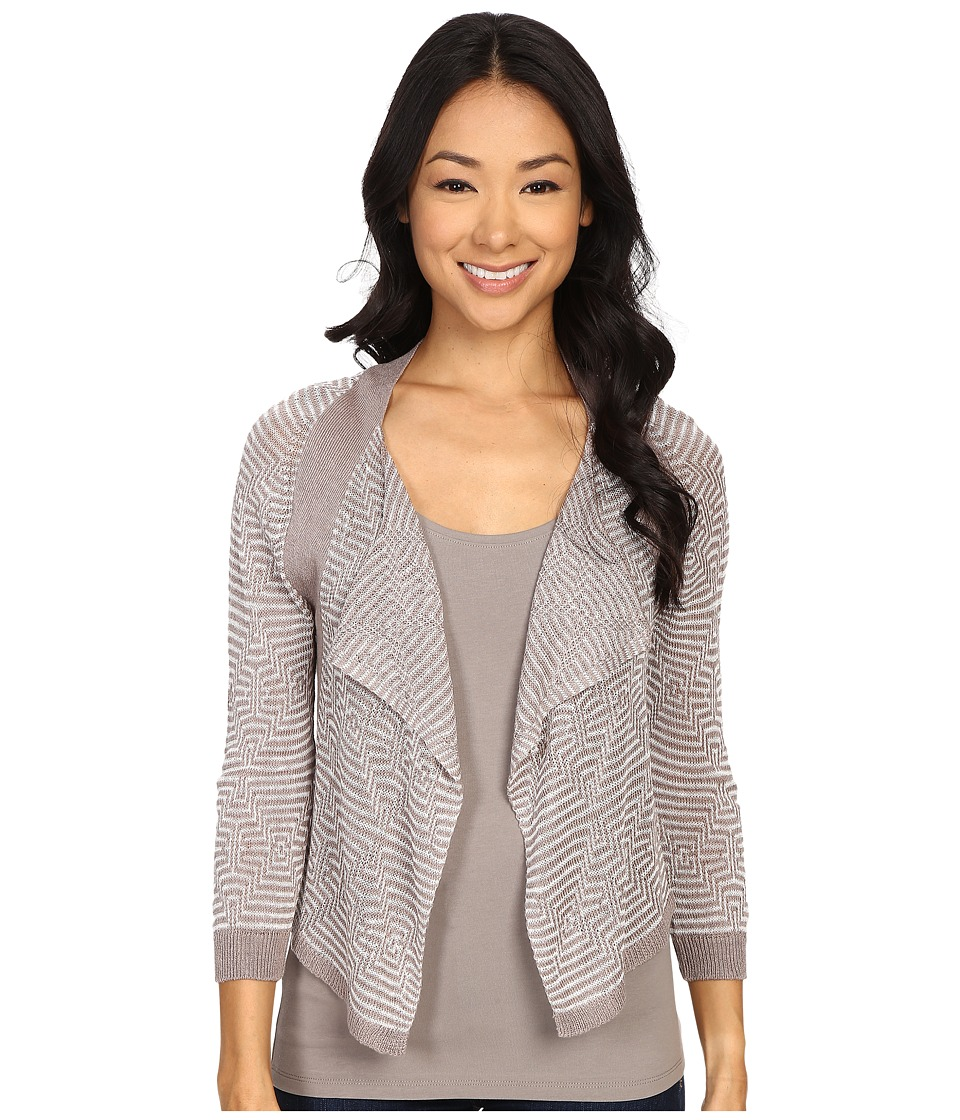 NIC+ZOE - Last Dance Cardy (Mushroom) Women's Sweater