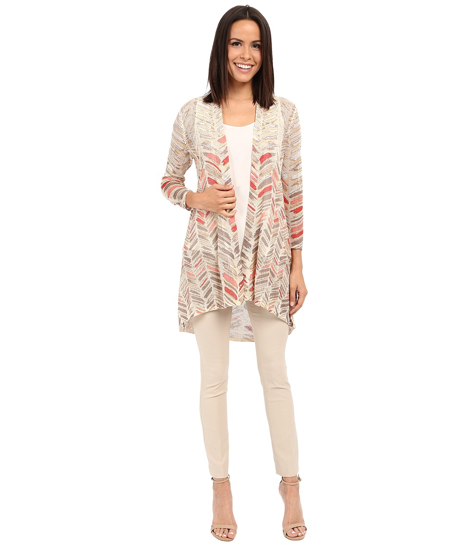 NIC+ZOE - Sunflare Cardy (Multi) Women's Sweater
