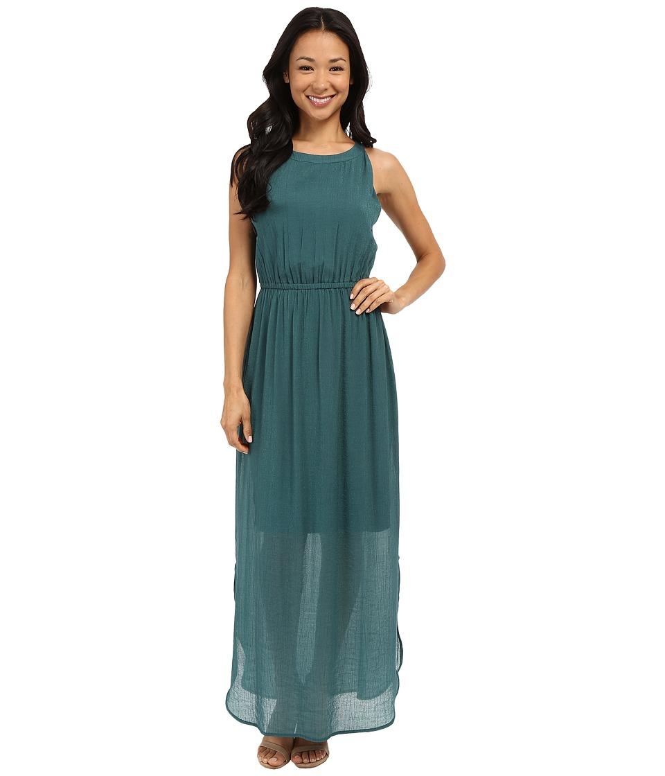 NIC+ZOE - Emerald Burst Dress (Bayberry) Women's Dress
