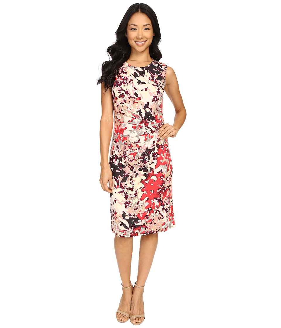 NIC+ZOE - Petals Showers Twist Dress (Multi) Women's Dress