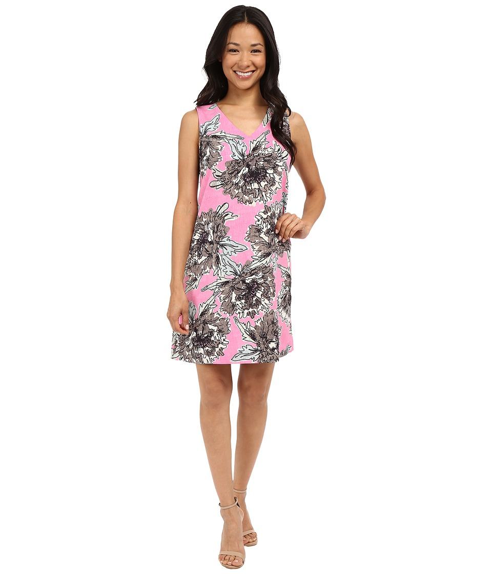 NIC+ZOE Petal Pink Dress (Multi) Women