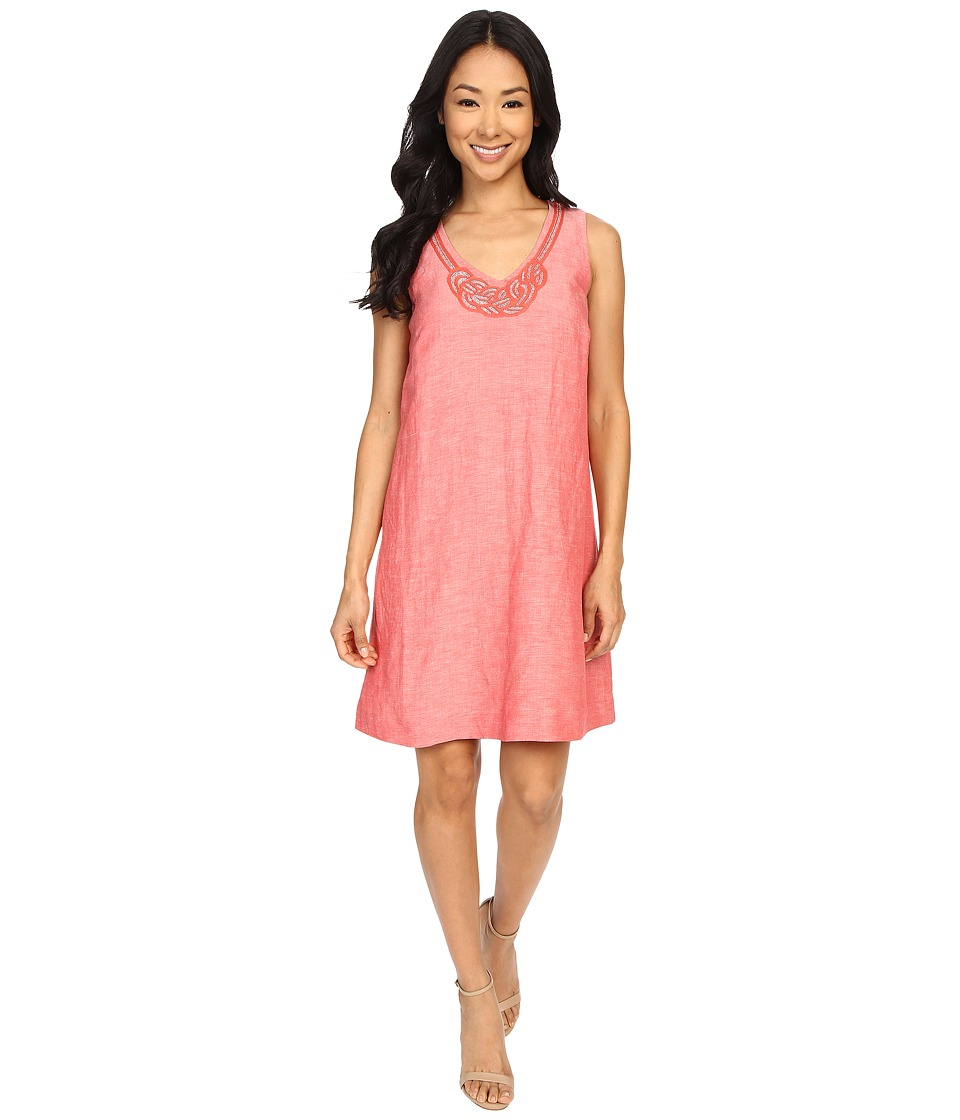 NIC+ZOE Jetset Dress (Spiced Rose Mix) Women