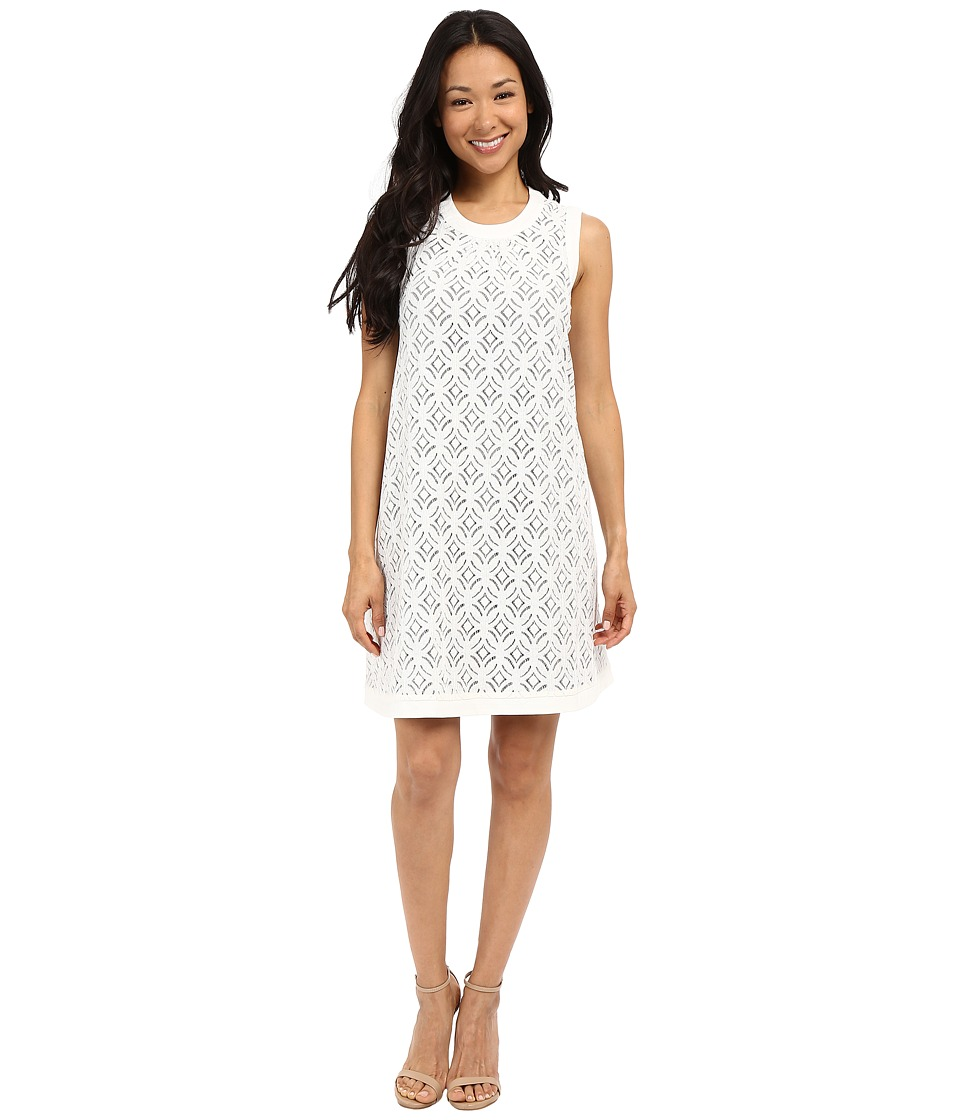 NIC+ZOE Waderlace Dress (Milk White) Women