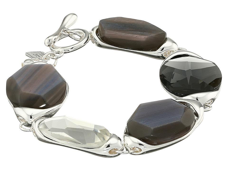 Robert Lee Morris - Grey Stone Flex Bracelet (Grey) Bracelet