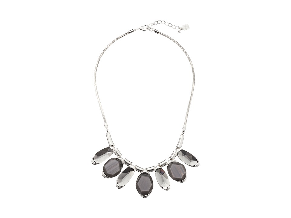 Robert Lee Morris - Grey Stone Frontal Necklace (Grey) Necklace