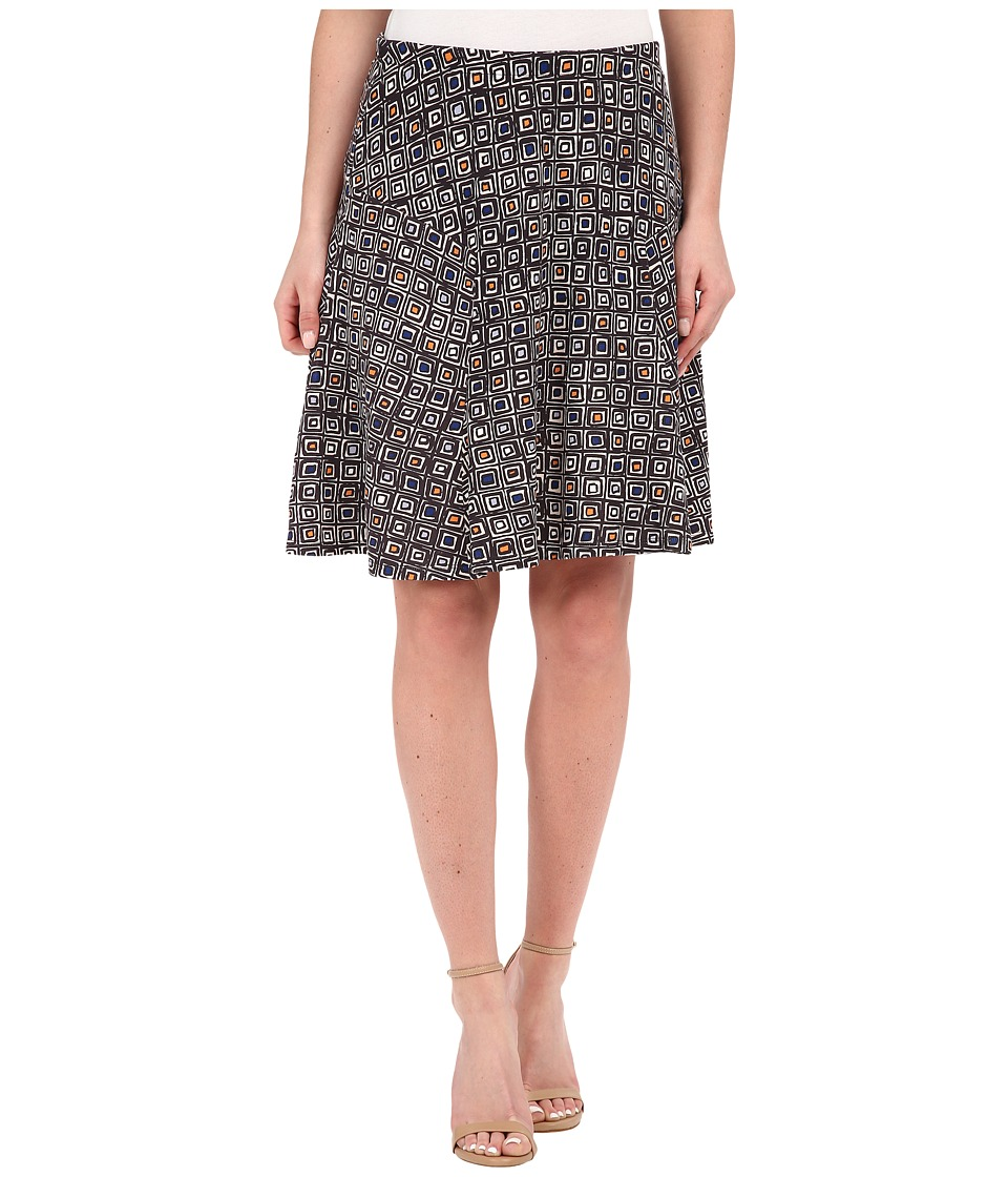 NIC+ZOE - Shifty Tiles Skirt (Multi) Women's Skirt