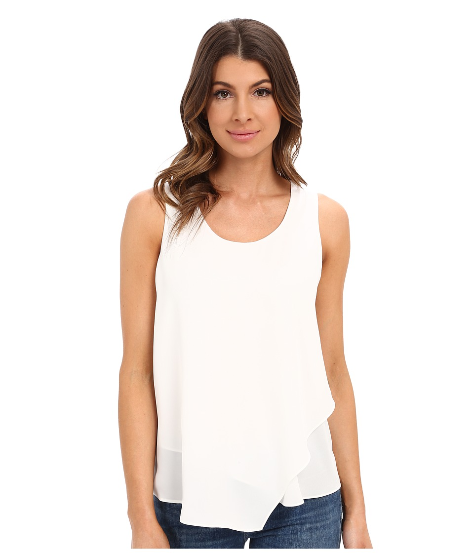 NIC+ZOE - Promenade Top (Paper White) Women's Clothing