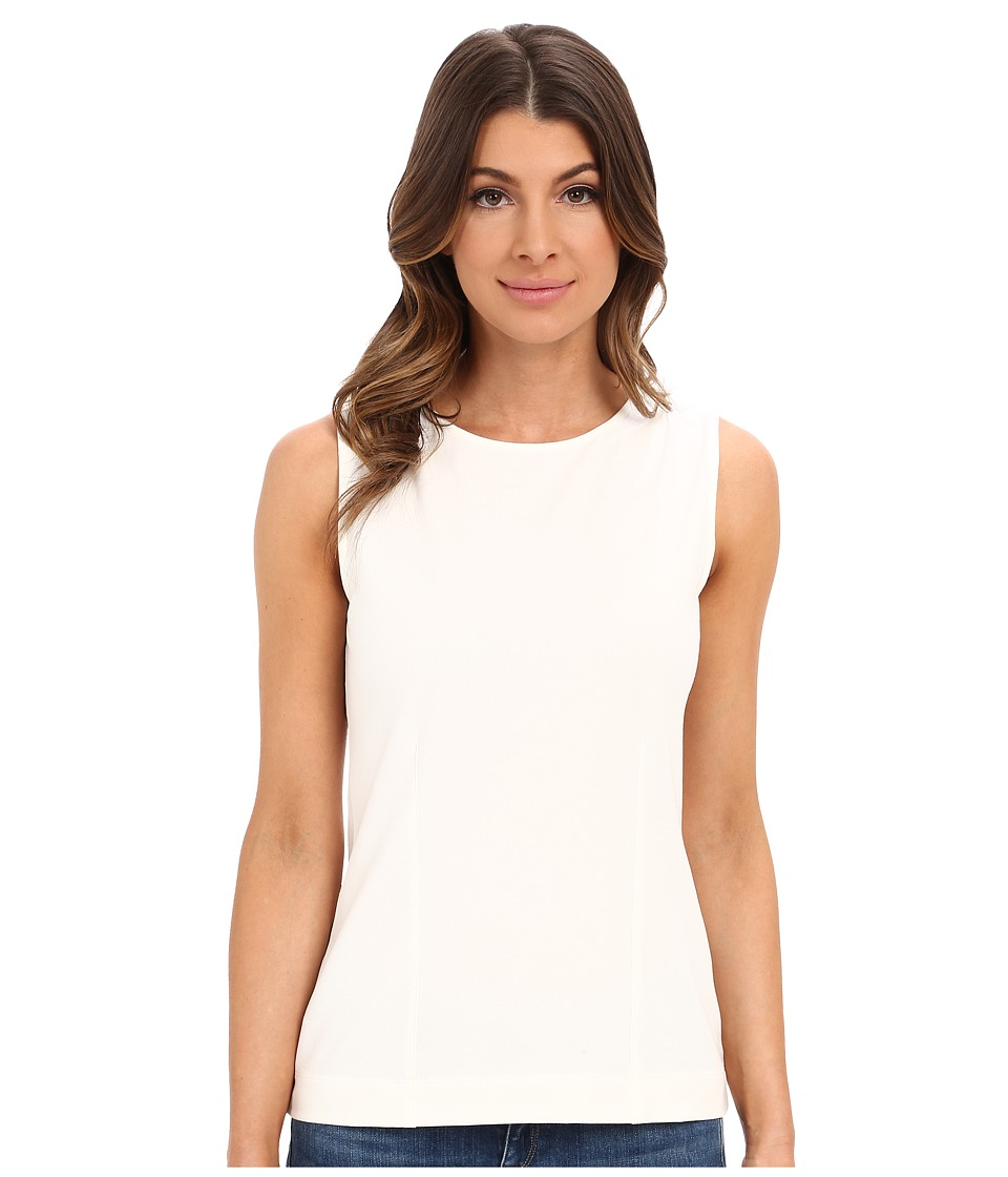 NIC+ZOE - Laced-Up Top (Milk White) Women's Clothing