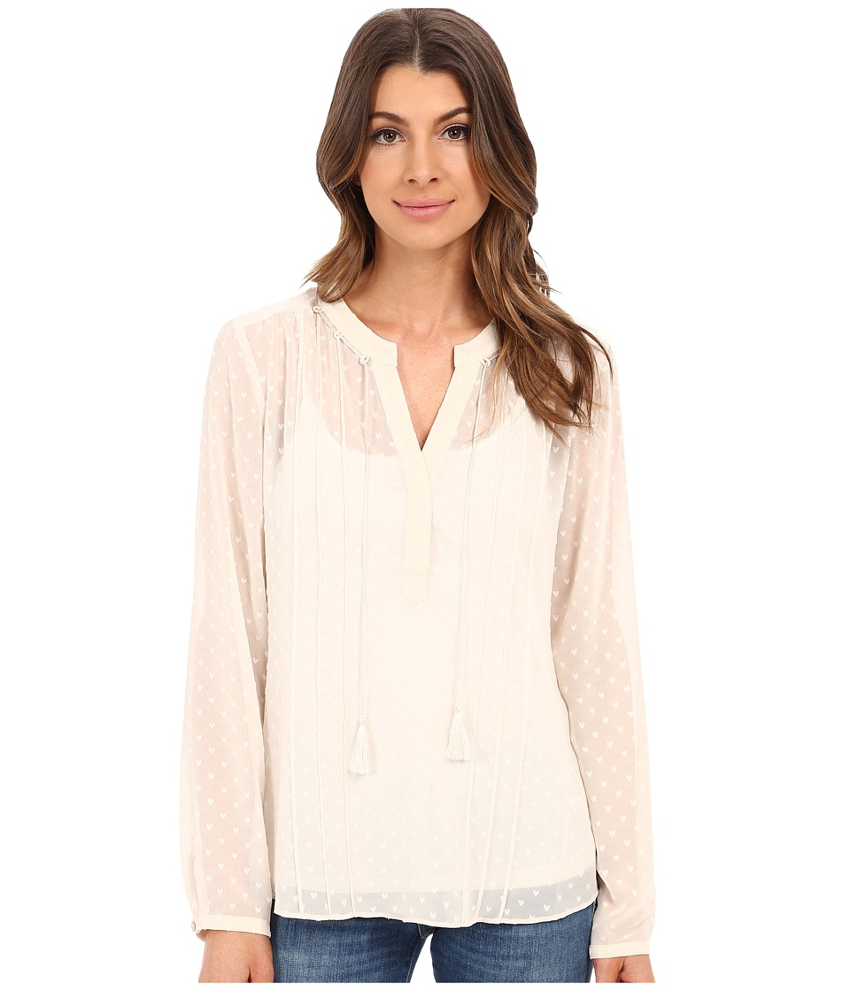 NIC+ZOE - Tassle Top (Sandshell) Women's Clothing