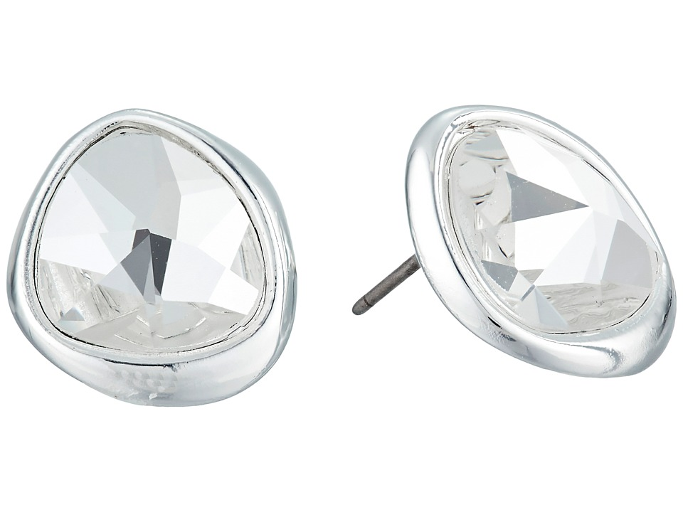 Robert Lee Morris - Crystal Stud Earrings (Crystal) Earring