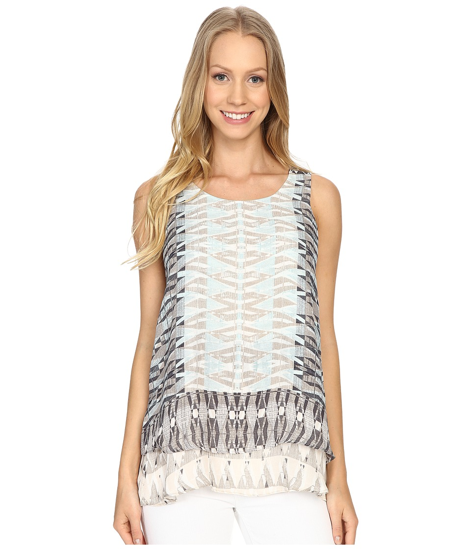 NIC+ZOE - Mosaic Tank Top (Multi) Women's Sleeveless
